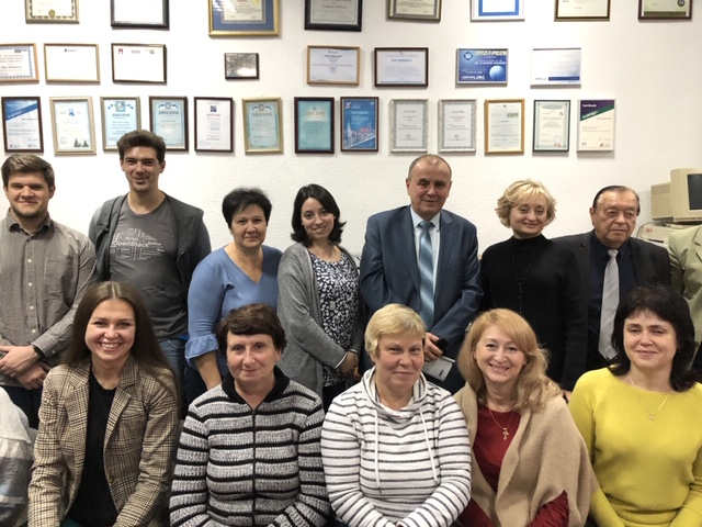 Rector NURE Valery Semenets had a meeting at Design Automation Department